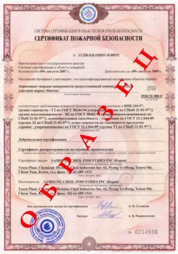 Сертификация Пожарной Безопасности ППС МЧС РФ